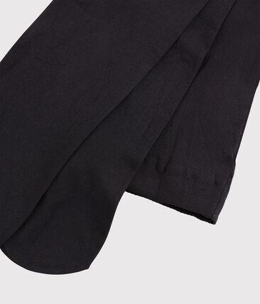 Microfibre tights for girls Noir black