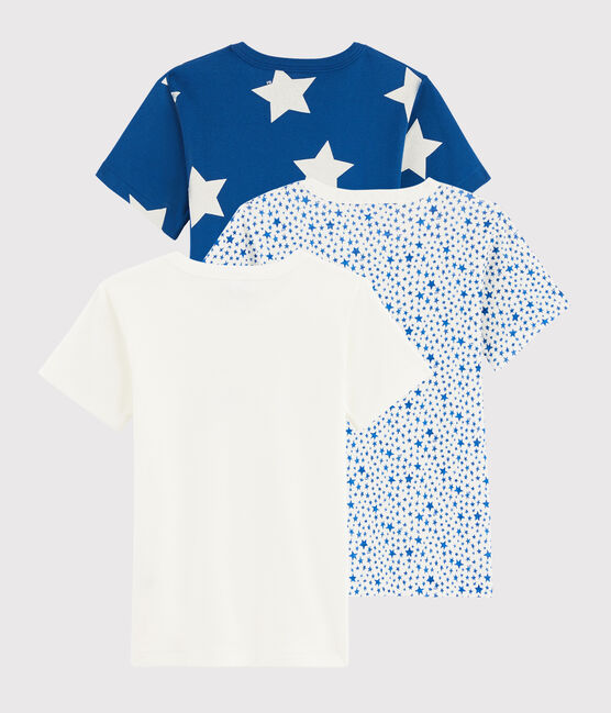 Boys' Starry Short-sleeved T-Shirt - 3-Piece Set . set