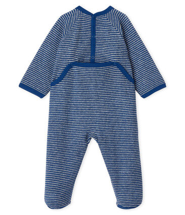 Baby Boys' Sleepsuit in Extra Warm Brushed Terry Towelling