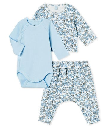 Baby Boys' Ribbed Clothing - 3-piece set