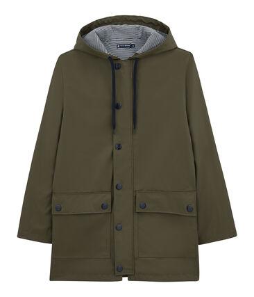 iconic mixed raincoat