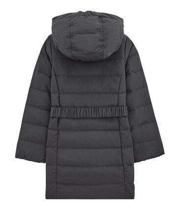 Girl's hooded parka
