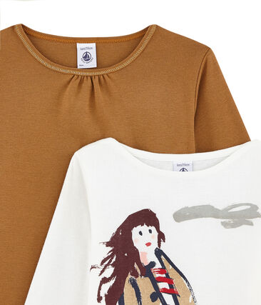 Set of 2 girl's T-shirts