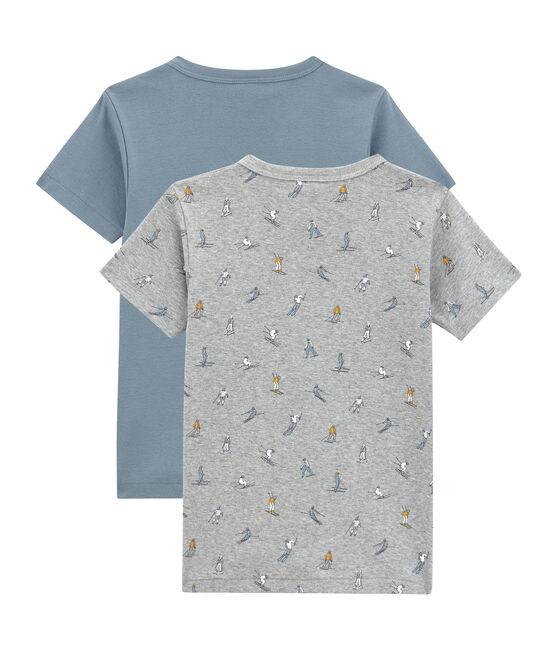 Little boy's short-sleeved tee-shirtduo . set