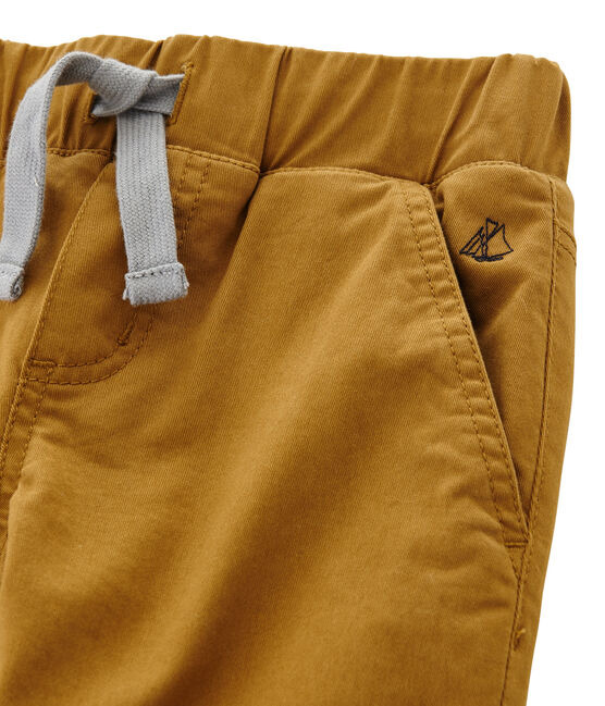 Boys Warm Lined Trousers Cuivre brown