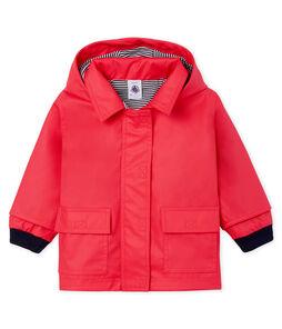 Baby Girls' Iconic Raincoat Signal red