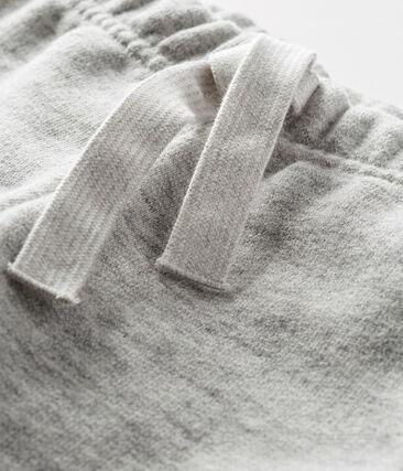 Baby boy's cotton sweatshirt trousers