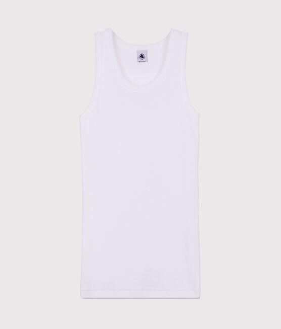 Women's iconic tank top Ecume white