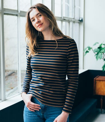 iconic women's breton top