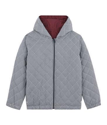 Child's warm, reversible windbreaker jacket