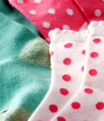 Baby Girls' Socks - 3-Piece Set