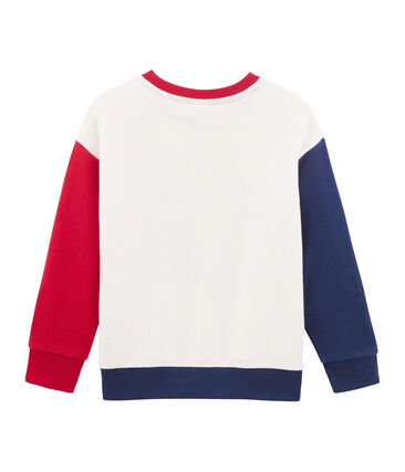 Boys Sweatshirt Marshmallow white / Multico white