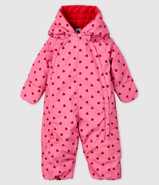 Baby girl's snowsuit CHEEK/TERKUIT