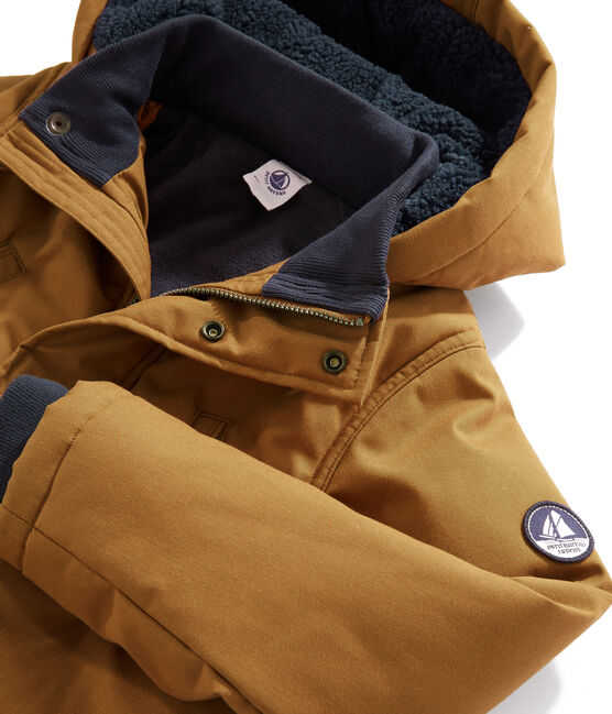 Boys' Parka Cuivre brown