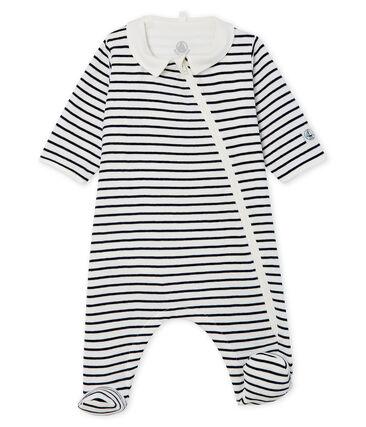 Babies' Zip-Up Ribbed Bodyjama