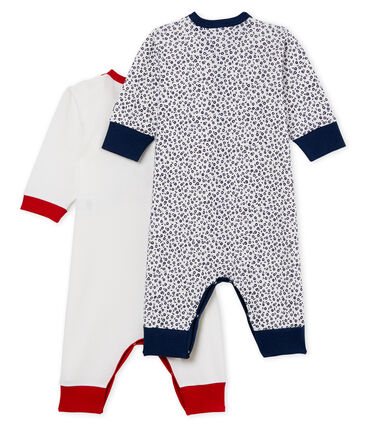 Baby Girls' Footless Sleepsuit - Set of 2