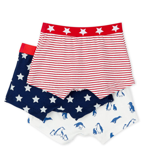 Boys' Print Boxer Shorts - 3-Piece Set . set