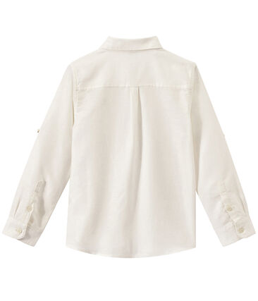 Boys' Shirt Ecume white