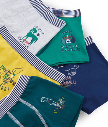 Boys' Boxer Shorts - 5-Piece Set