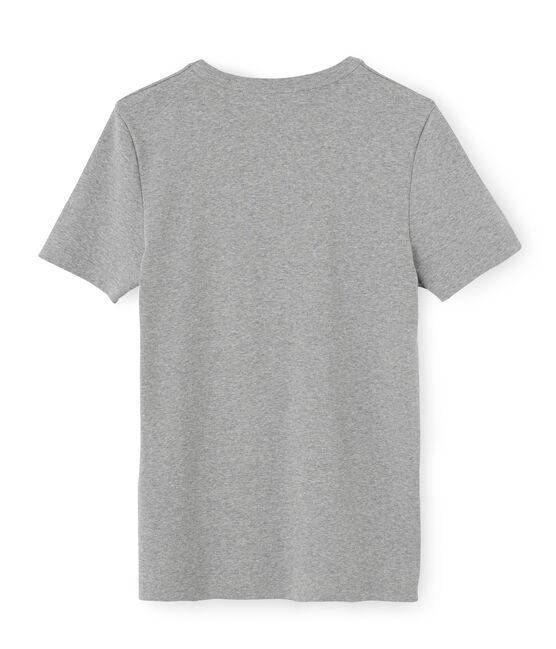 Men's Short-Sleeved Iconic T-Shirt Subway grey