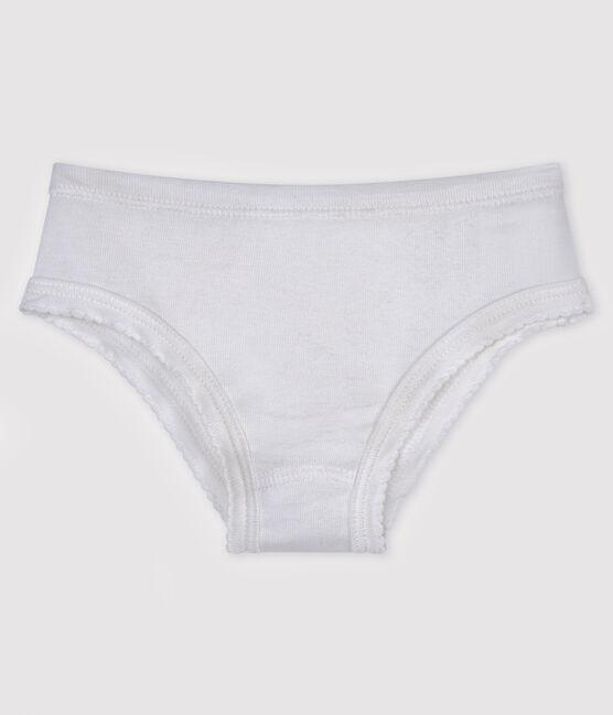 Girls' pants Ecume white