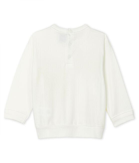 Unisex Baby's Light Sweatshirt Marshmallow white