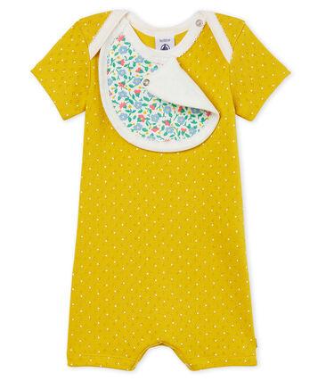 Baby Girls' Shortie Honey yellow / Marshmallow white