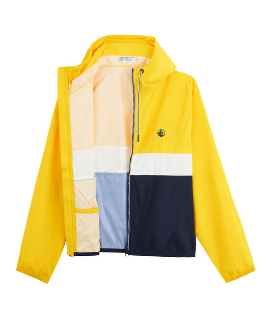 Unisex Short Windbreaker Smoking blue / Marshmallow white