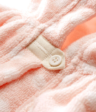 Baby Girls' Towelling Bath Cape