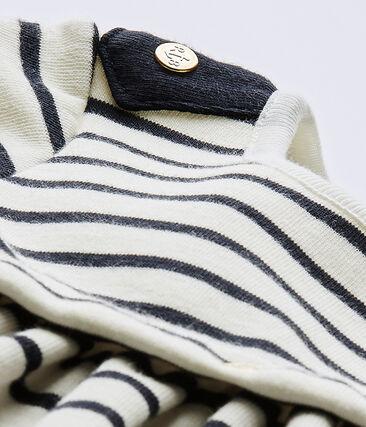Baby girls' long-sleeved striped dress