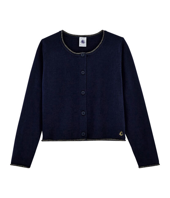 Girls' Knit Cardigan SMOKING