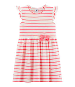 Girls' Dress Marshmallow white / Cupcake pink