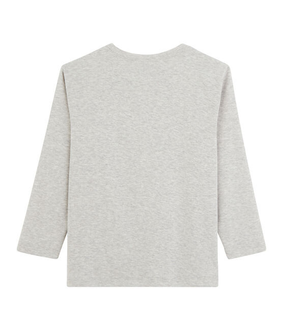 Boys' Long-Sleeved T-shirt Beluga grey