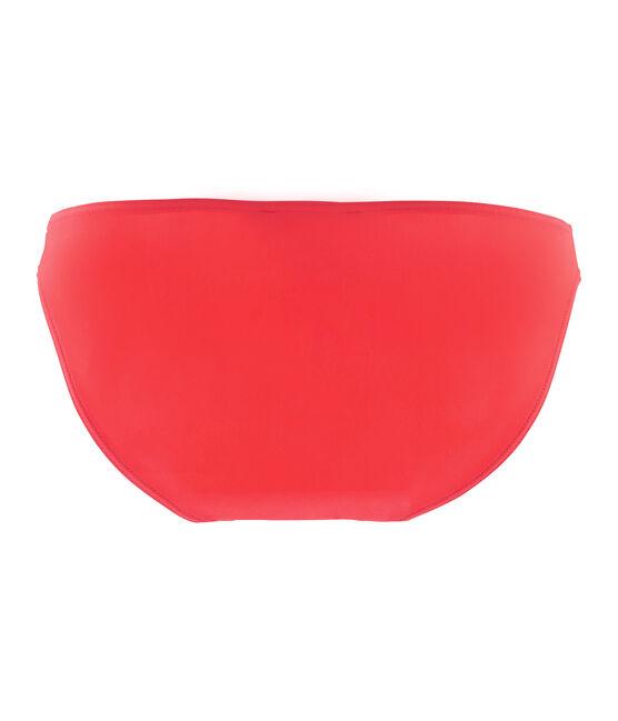 Women's plain swimsuit bottoms Groseiller pink