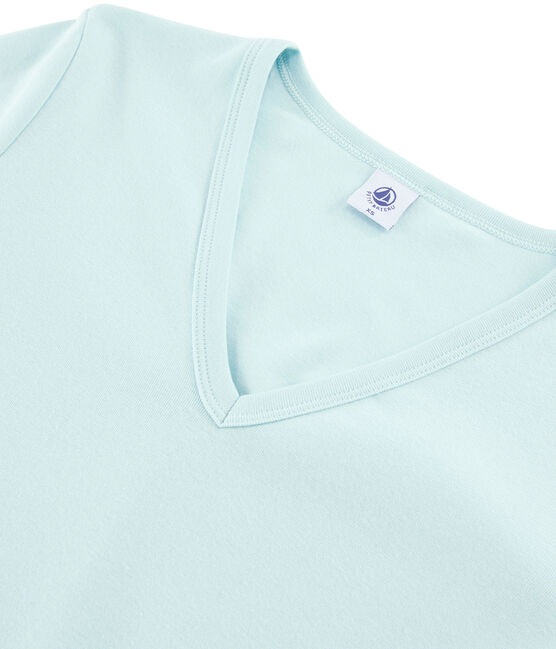 Women's Iconic T-Shirt Crystal blue