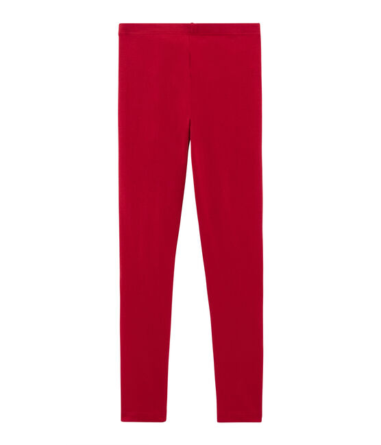 Girls' Leggings Terkuit red