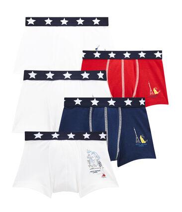Set of 5 little boy's boxers . set