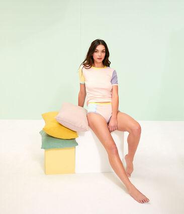 Women's Iconic T-Shirt Multico white