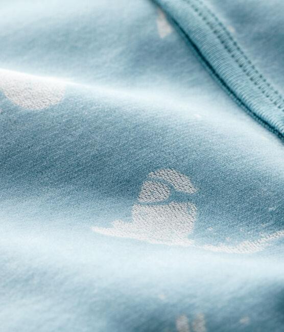 Baby Boys' Velour Yeti Sleepsuit BRUME/MARSHMALLOW