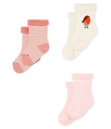 Babies' Terry Socks - 3-Piece Set