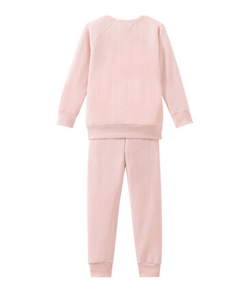 Little girl's pyjamas in extra warm brushed towelling.