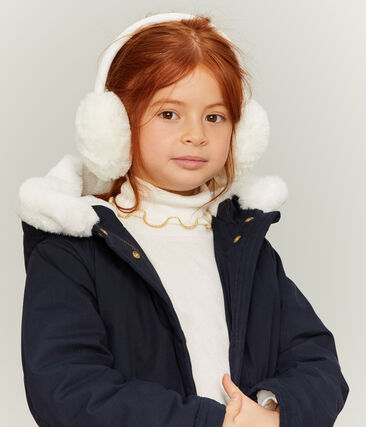 Girls Earmuffs Marshmallow white