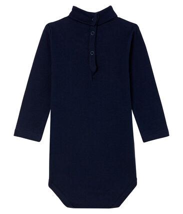 Unisex Babies' Long-Sleeved Roll-Neck Bodysuit