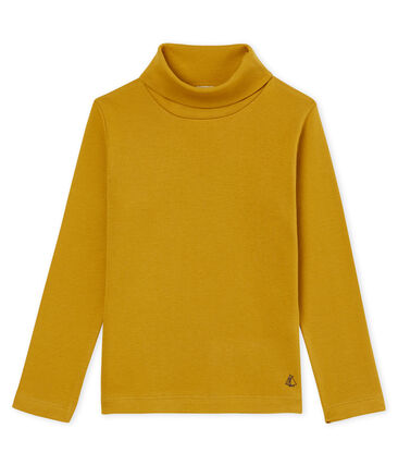 Mixed child's plain polo neck T-shirt