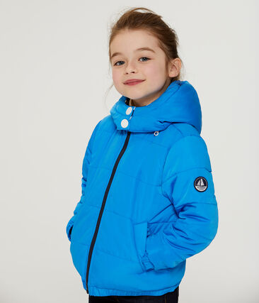 Unisex Children's Down Coat Wave blue