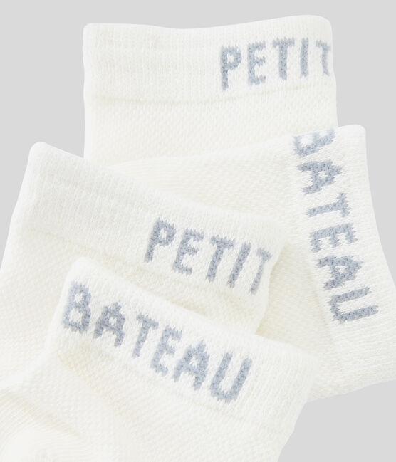 Boys' socks Marshmallow white
