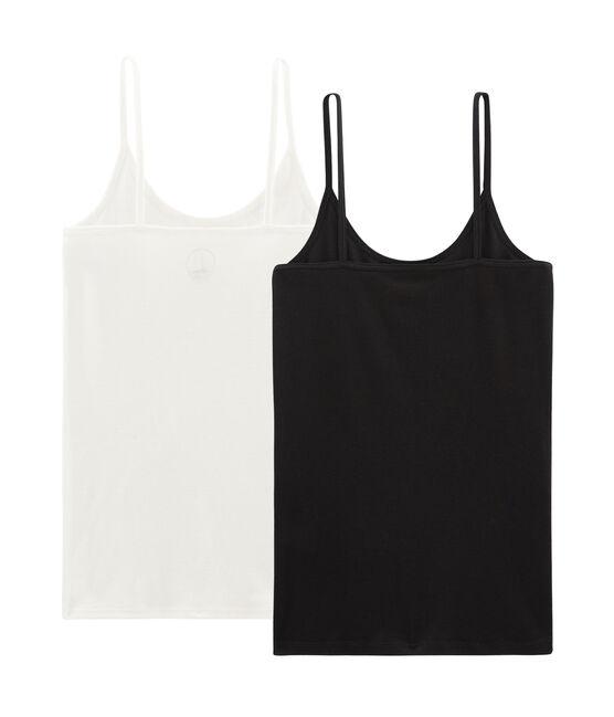 Women's Strappy Shirt - 2-Piece Set . set