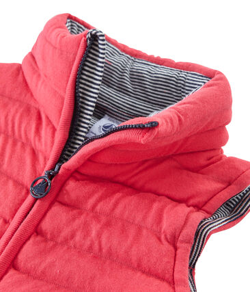 Unisex Children's Sleeveless Jacket Signal red