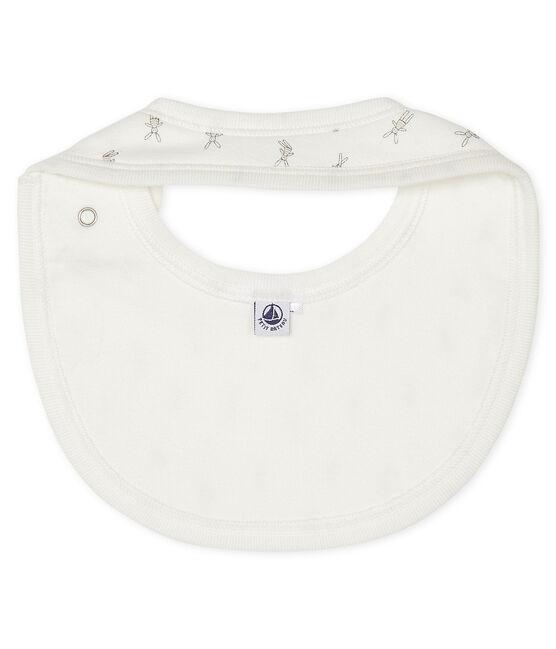 Lapinou bib Lait white / Multico white