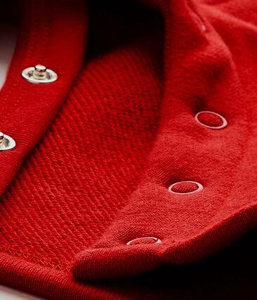 Baby boy's fleece overalls